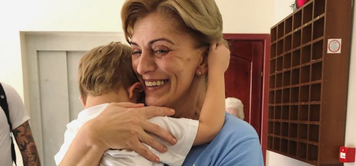 Update Video: Sawyer meets Mirjana in Medjugorje